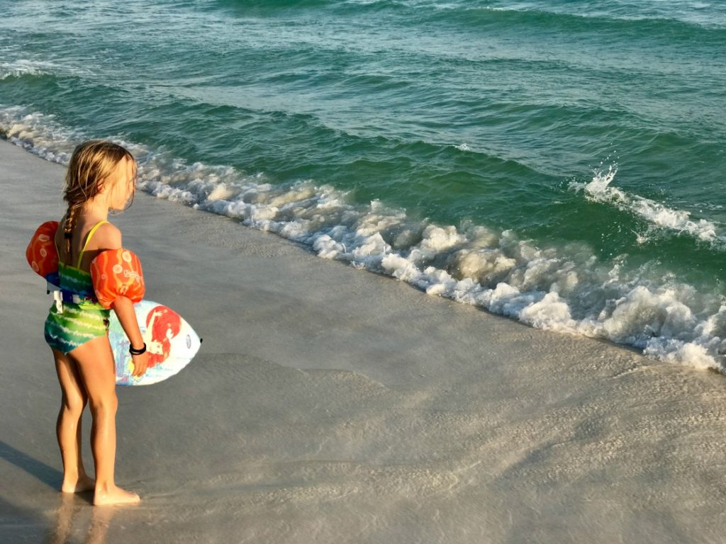 Relaxing together as a family is one reason why we visit the Emerald Coast every year.