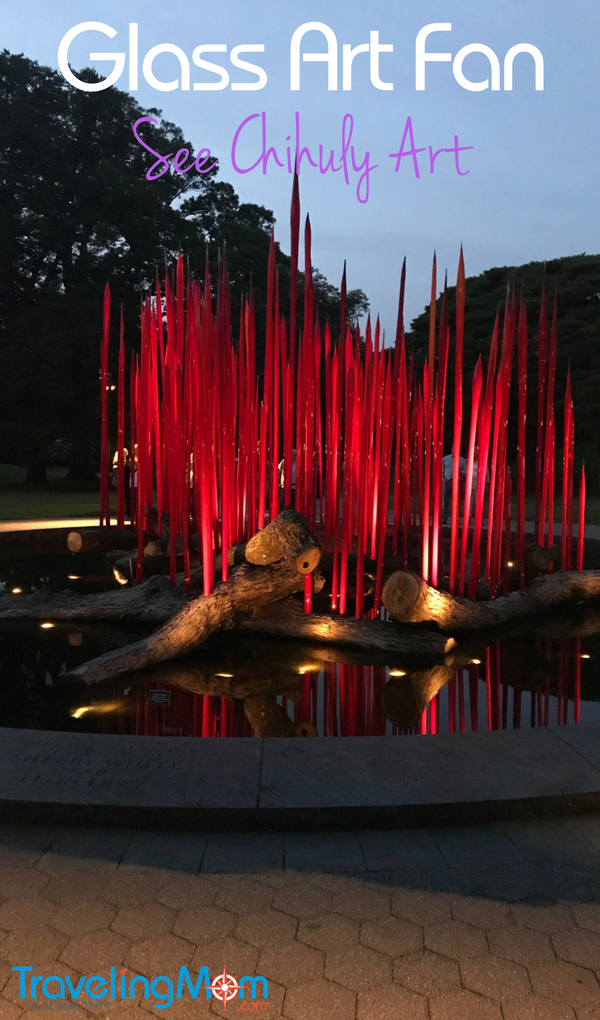 Do you love glass art? Head to Tacoma, home of Dale Chihuly. And check out the New York Botanical Garden's Chihuly glass exhibit in the Bronx.