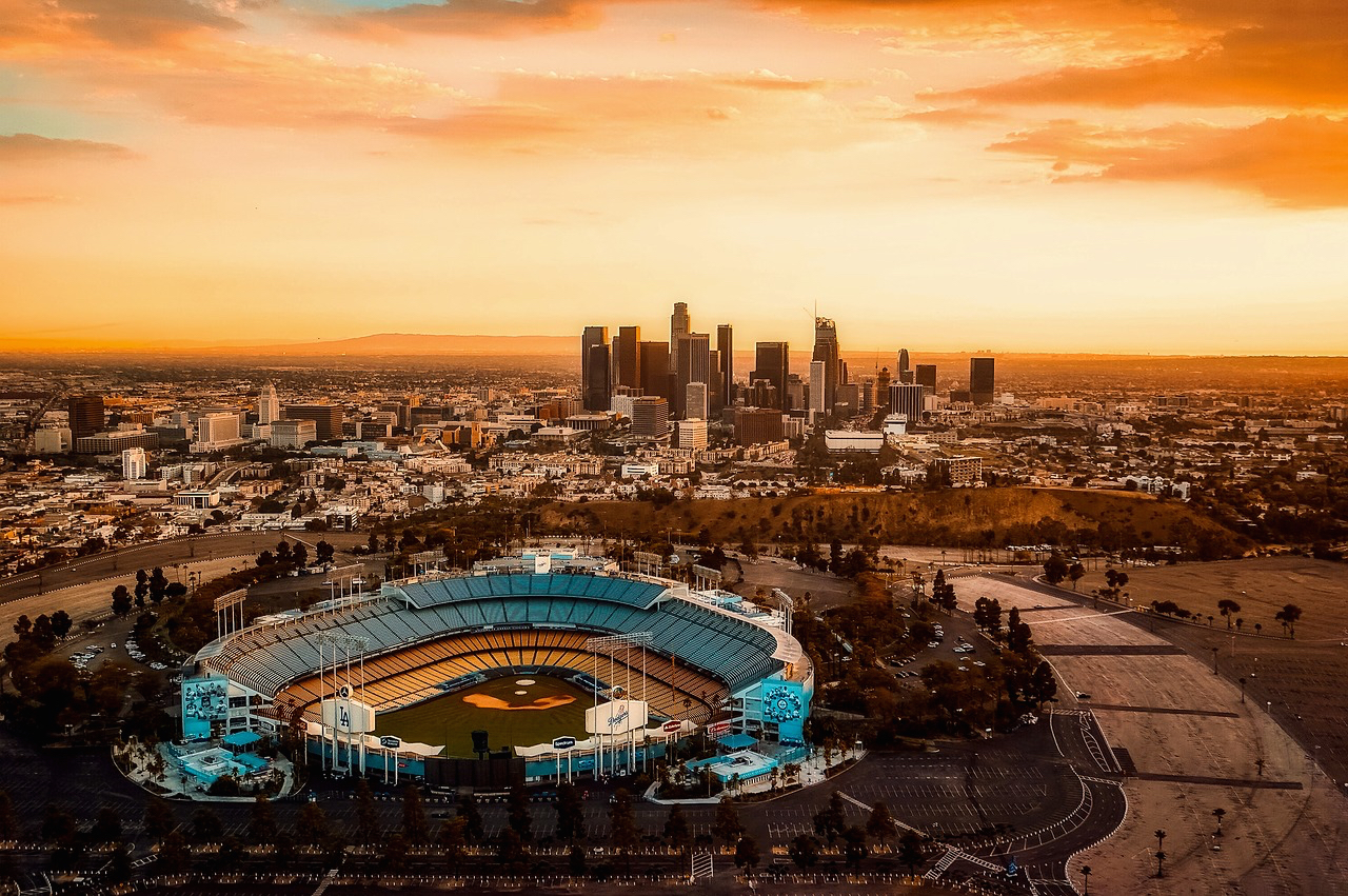 Watch a game at Dodgers stadium during your 3 day itinerary for Los Angeles.