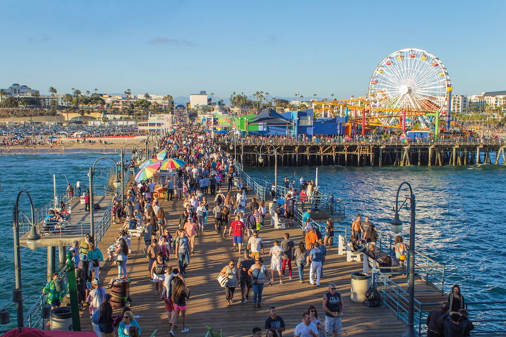Spend the evening at Santa Monica Pier during your 3 day itinerary for Los Angeles.