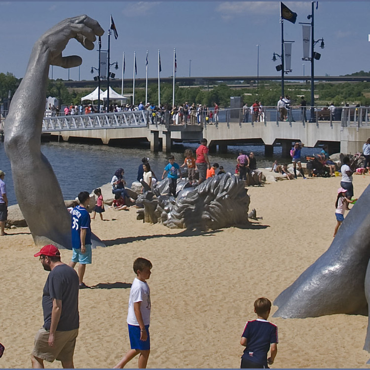 The Awakening is a DC icon relocated to National Harbor.