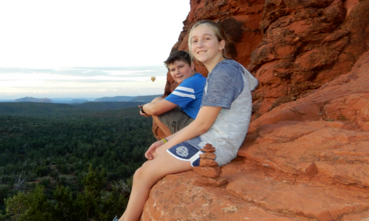 Checking out the gorgeous views in Sedona with Adventures by Disney