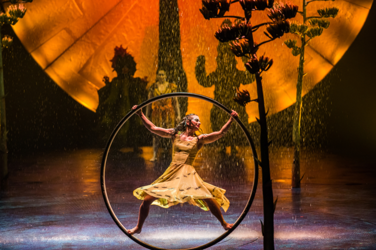 Cirque du Soleil Luzia is a family-friendly show.