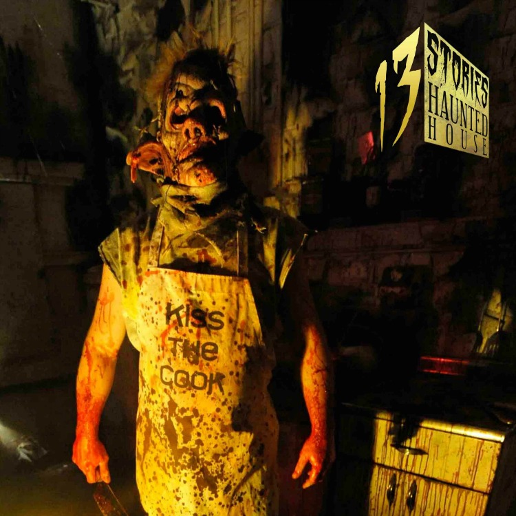 13 Stories woud be rated as the scariest of the Halloween Events in the US!