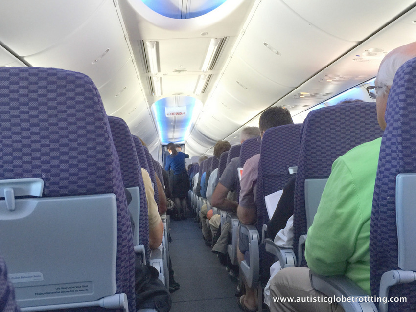 Flying with Autism: Which Airline Seat is Best? space between rows