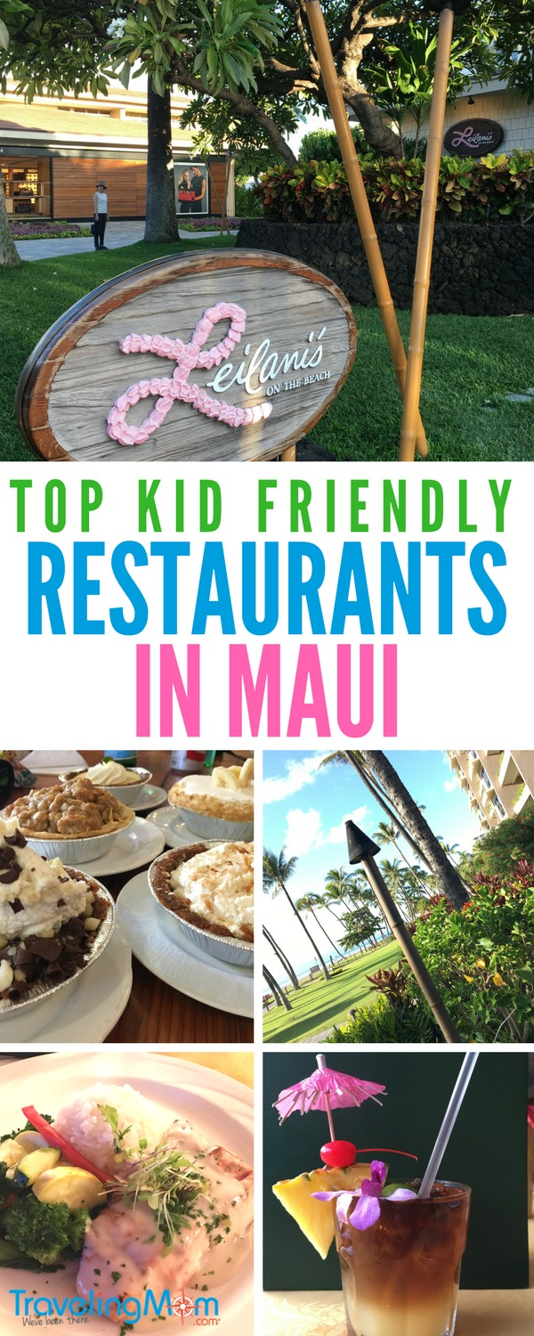 Dining in Maui, Hawaii with kids? Check out these top family-friendly restaurants serving the best in local food.