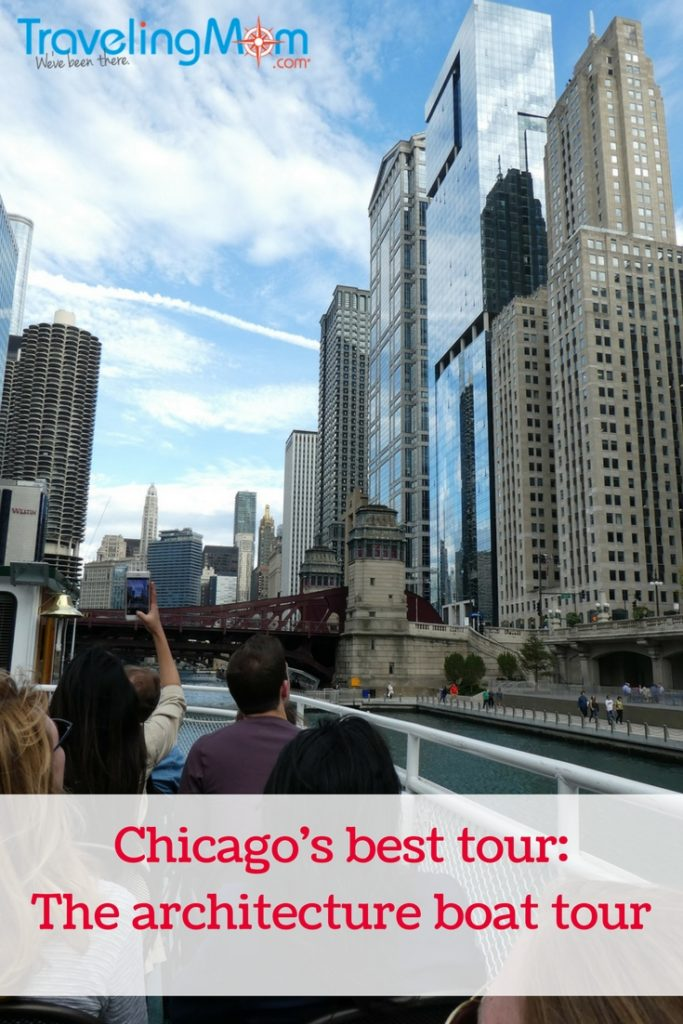 Chicago Architecture Foundation boat tour pin