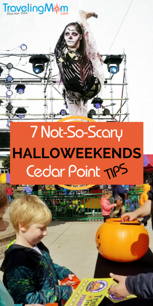 7 Things that are not-so-scary at Cedar Point's Halloweekends in Sandusky, Ohio.