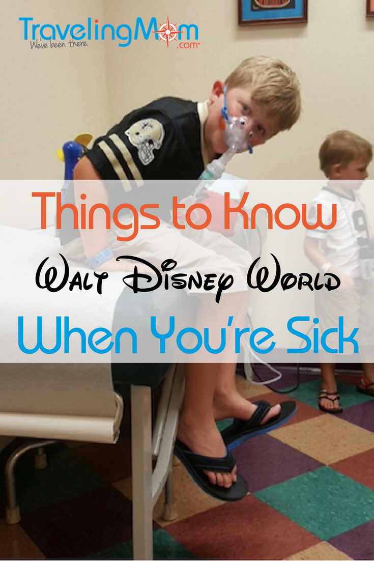 Being sick on vacation is the worst. These travel tips teach you of the benefits to Disney World First Aid.