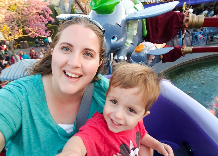 Tips for Disneyland with toddlers include choosing rides carefully