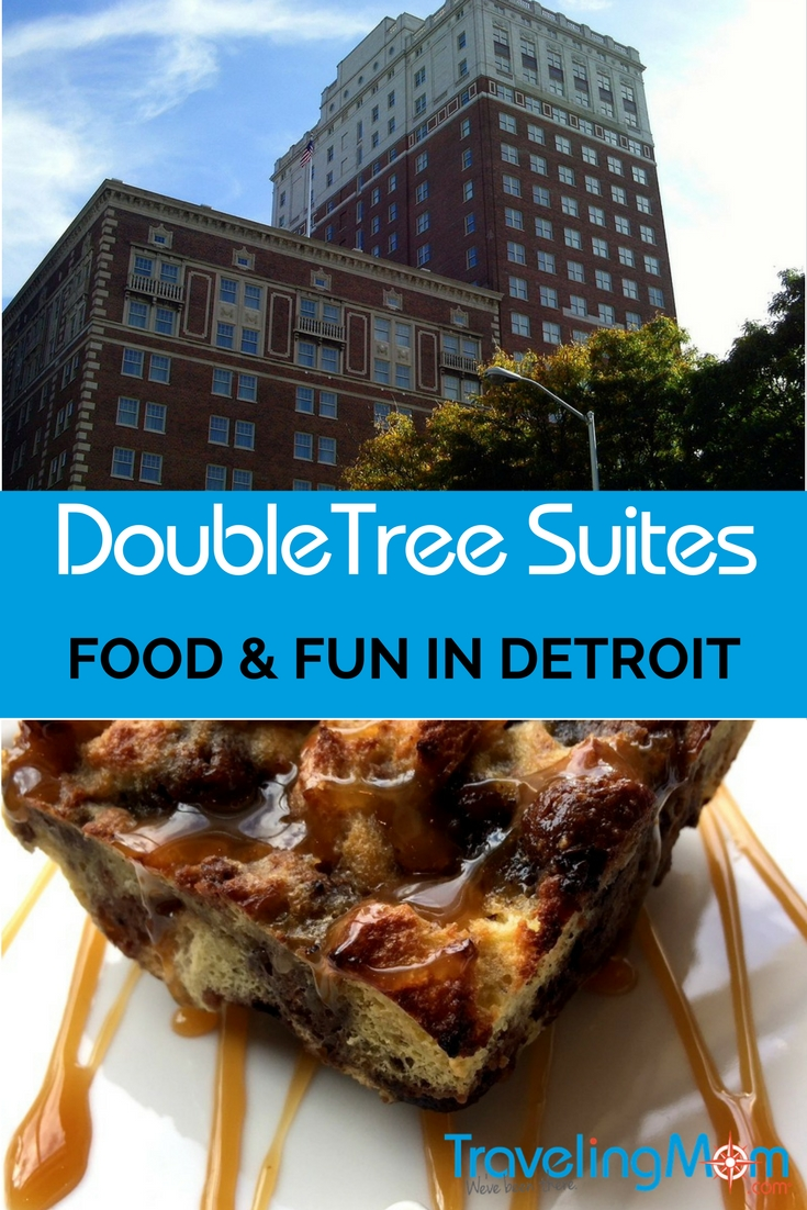 Detroit hotels like the DoubleTree Suites by Hilton - Fort Shelby -- are housed in formerly abandoned buildings now restored to their former glory. This historic hotel is a great spot for foodies and families.