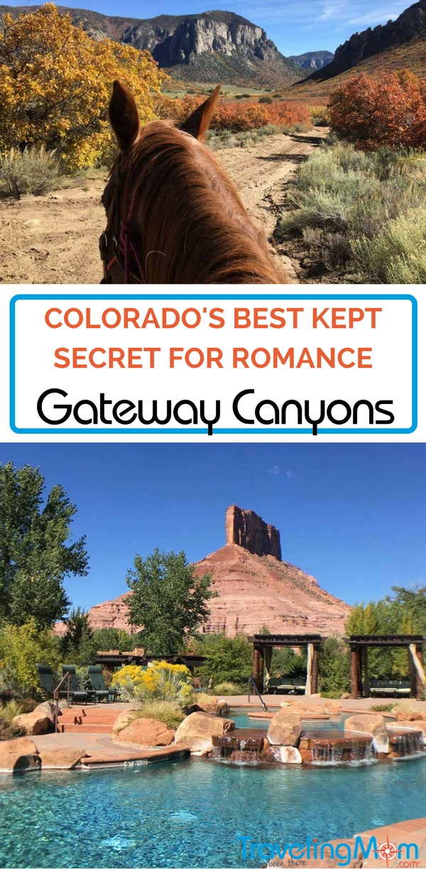 Have you ever stumbled upon a really special place? Mountain TravelingMom did with Gateway Canyons Resort in Colorado. Read the review - it's the perfect place for romance!