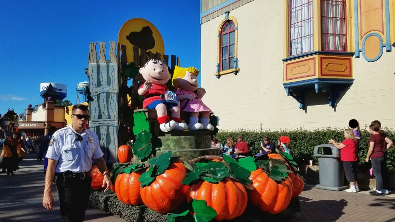 Halloweekends Cedar Point with kids includes the Great Pumpkin parade.