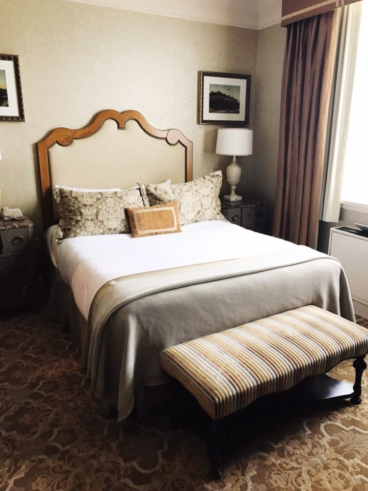 It's worth it to stay on site at Hersheypark with elegant rooms like the ones at The Hotel Hershey.