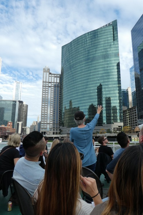 The Chicago Architecture Foundation boat tour is one of the best tours in Chicago.