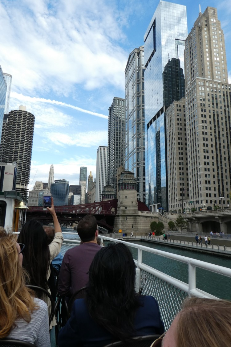The Chicago Architecture Foundation boat tour is one of Chicago's best tours.