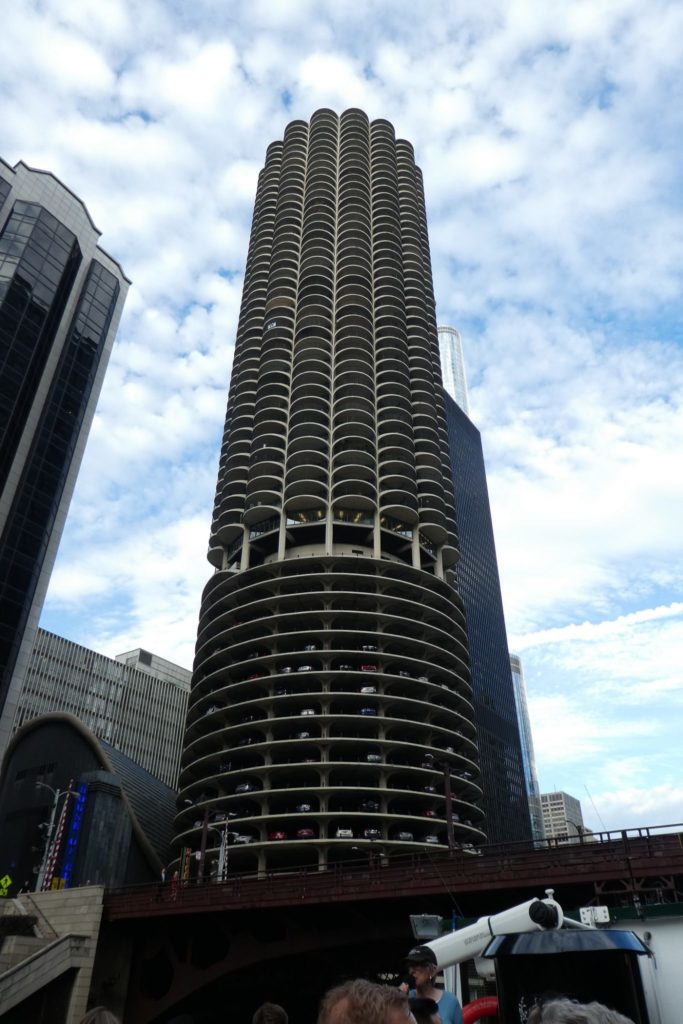 Marina Towers are among the sites along the Chicago Architecture Foundation river cruise.