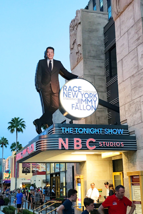 How to Spend 1 Day at Universal Studios must include Race Through New York Starring Jimmy Fallon.