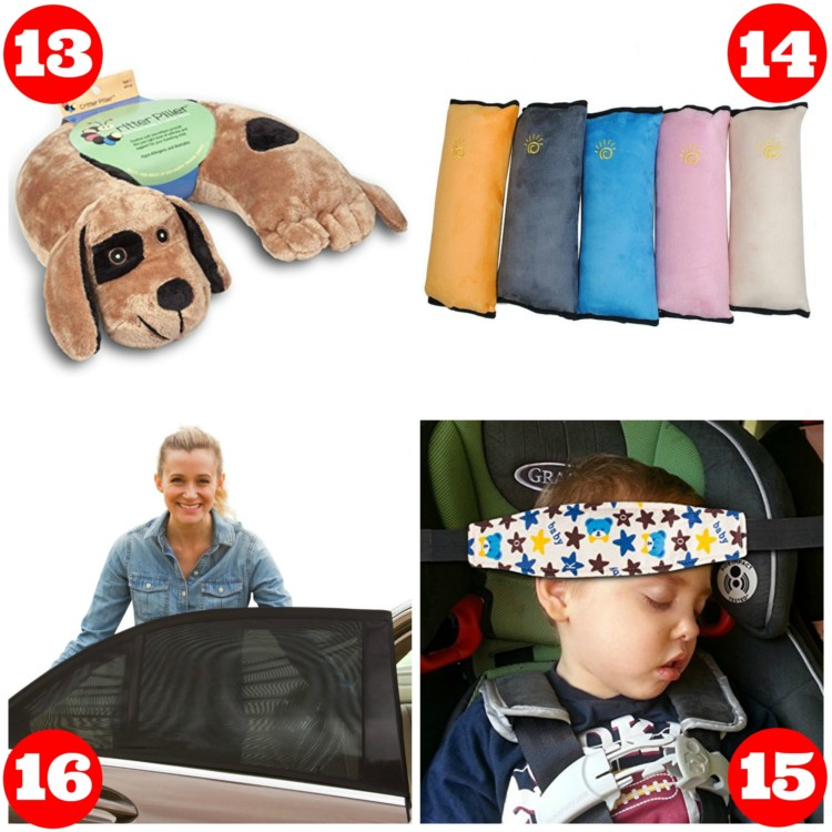 It's always important to find the best car accessories for keeping the kids comfortable.