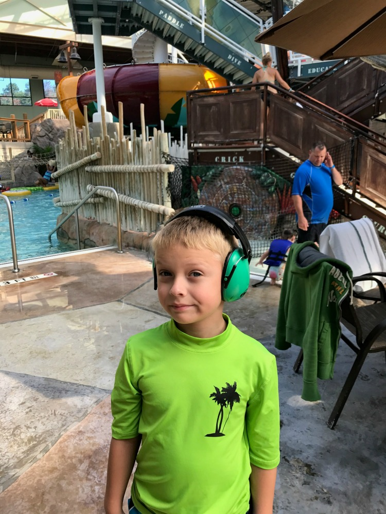 Parents of children with sensory noise challenges may want to bring their headphones so they can enjoy this special needs friendly resort in the Poconos.