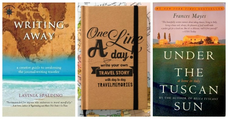Books that inspire travel, or help you retain the memories of a fabulous trip make great travel gifts for women.