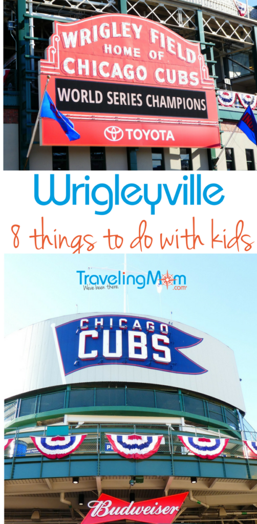 Heading to Chicago to cheer on the World Series Champion Chicago Cubs? If you're traveling with kids, you need to read this to find out which Wrigleyville spots are kid friendly and which aren't so much.