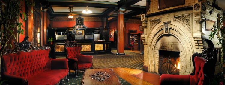 The 1886 Crescent Hotel is one of the best Halloween Events in the US