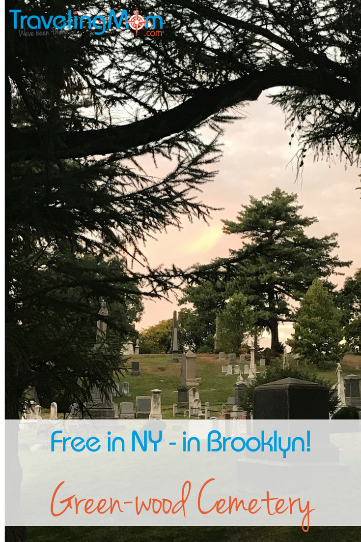Aren't you dying to see Green-Wood Cemetery, another free in NYC attraction?