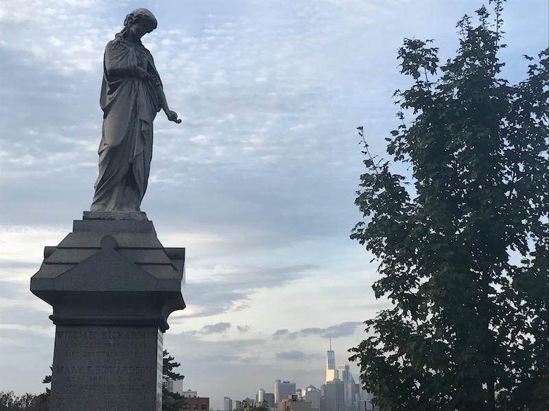 The magnificent Green-wood Cemetery, free in NYC
