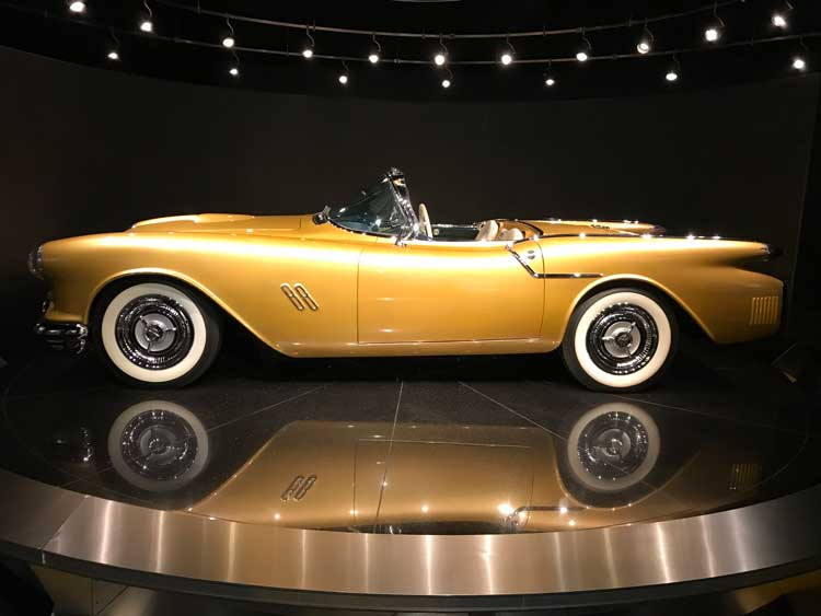 Touring the Auto Museum and seeing a 1954 Oldsmobile F-88 concept car is only one of many things to do at Gateway Canyons Resort.