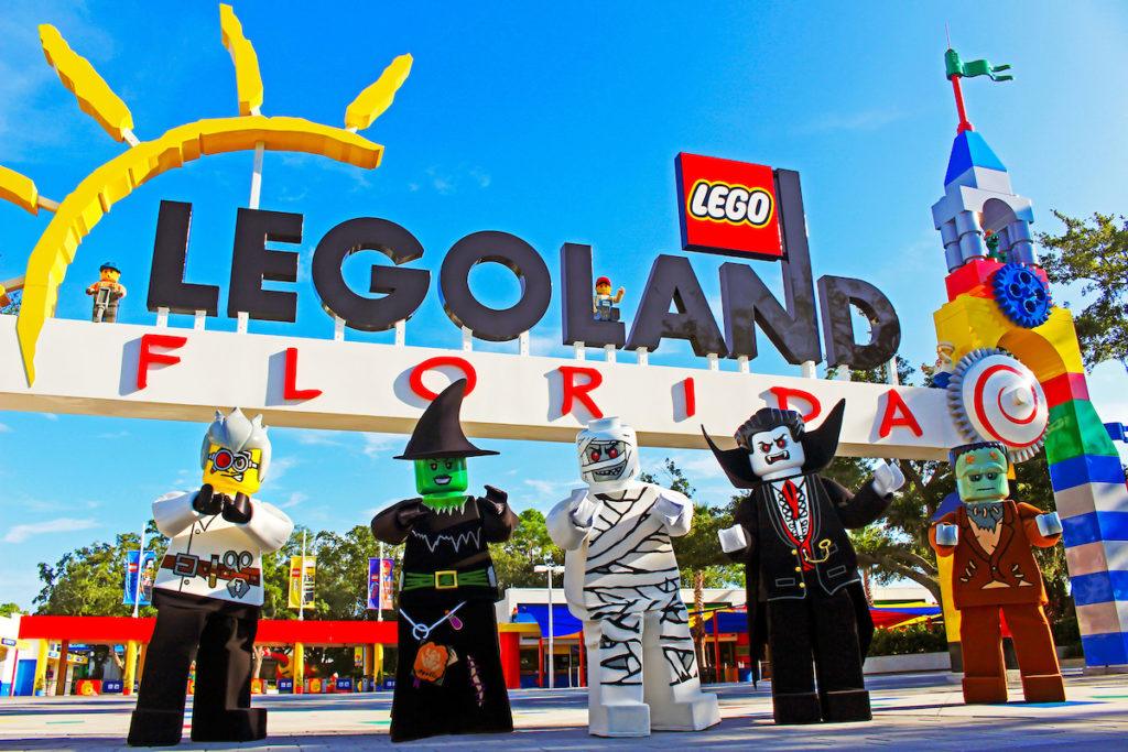 Halloween Orlando 2017 events include LEGOLAND Florida's Brick or Treat! Halloween events in Orlando can be spooky or silly. You can find something right for your family with these fabulous things to do in Orlando in October.
