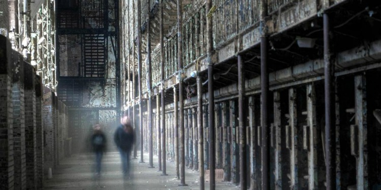 An old prison would be the idea spot for a Halloween Event in the US!
