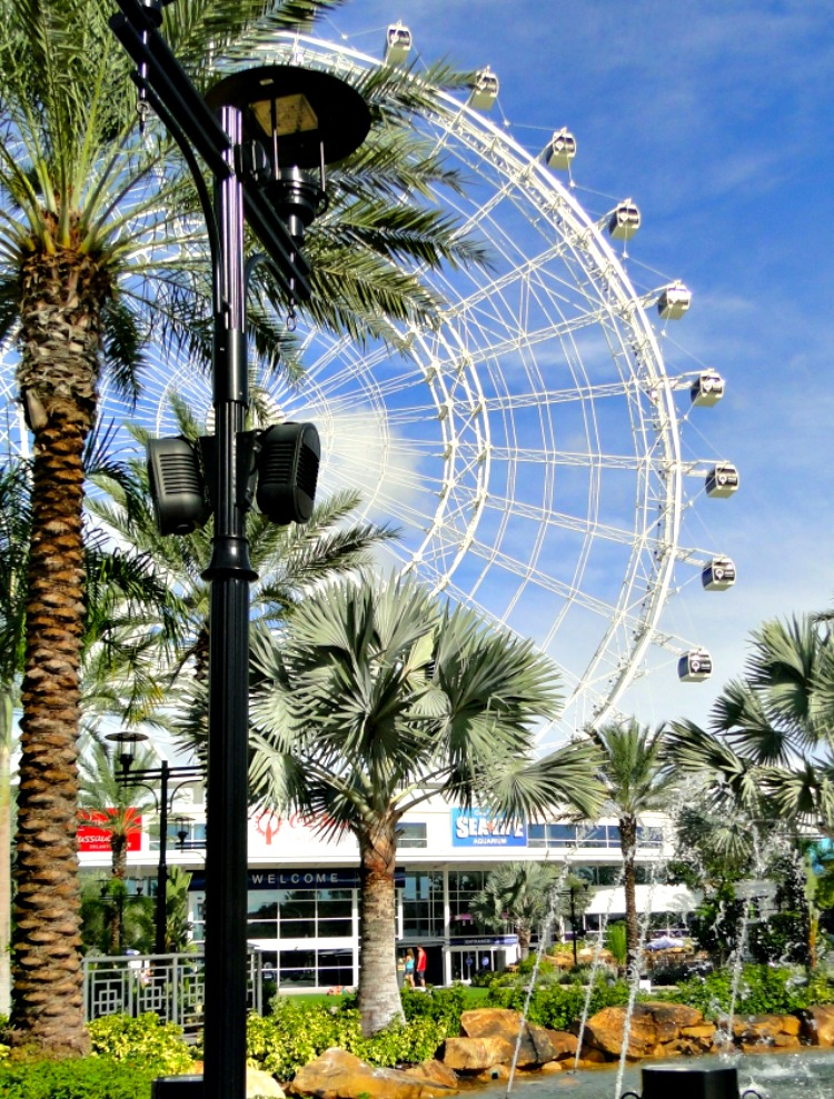 Riding the gigantic Orlando Eye ferris wheel should be included on your two-day itinerary to visiting Orlando, Florida.