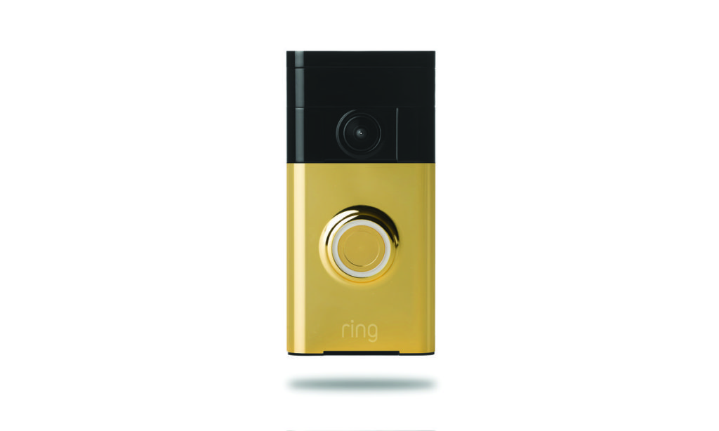 The Ring Video Doorbell gives you peace of mind when away from home and is one of the best travel gifts for men.