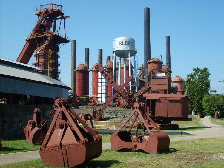 As a Halloween Event in the US, Sloss Furnace is renowned.