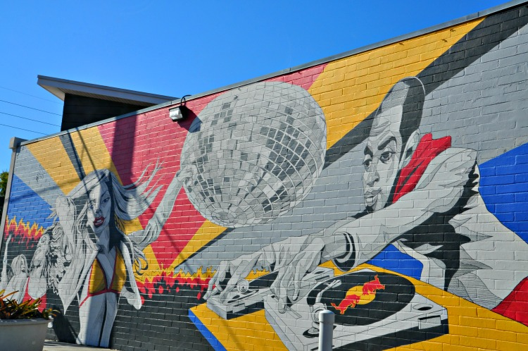 Driving Orlando's Mills 50 District to see local street art should be included on your two-day itinerary to visiting Orlando, Florida.
