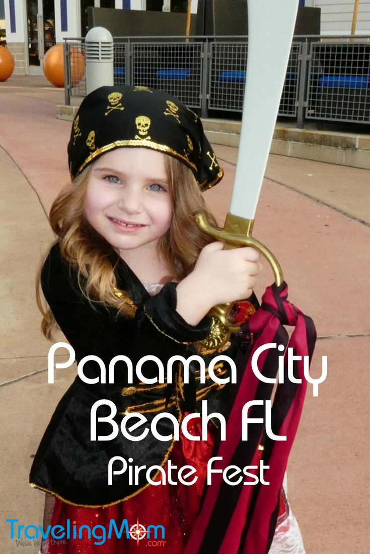 October is a great time for a family beach vacation in Panama City Beach Florida. Look for Pirate Fest every Columbus Day weekend in Panama City Beach.