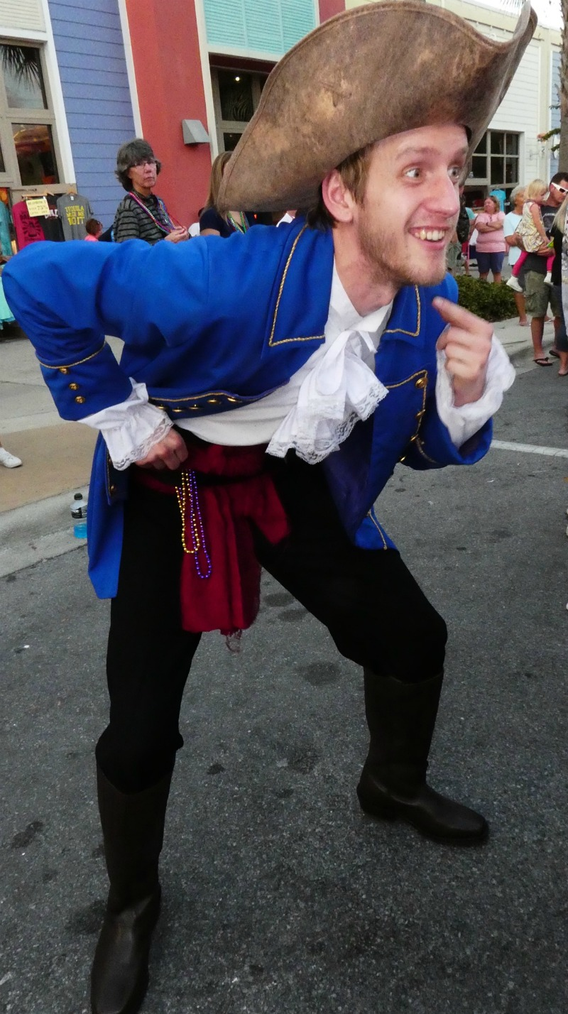 Pirate Fest, one of the fun things to do in Panama City Beach FL in October.