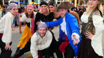 Things to do in Panama City Beach Fl in October: Pirate Fest.