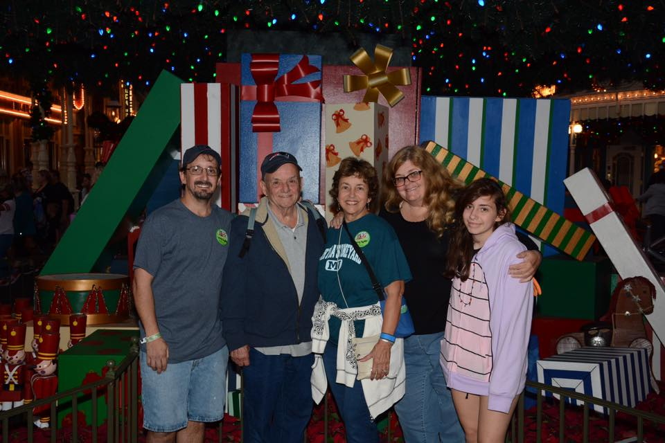 Traveling for the holidays - visiting Disney with the in-laws.