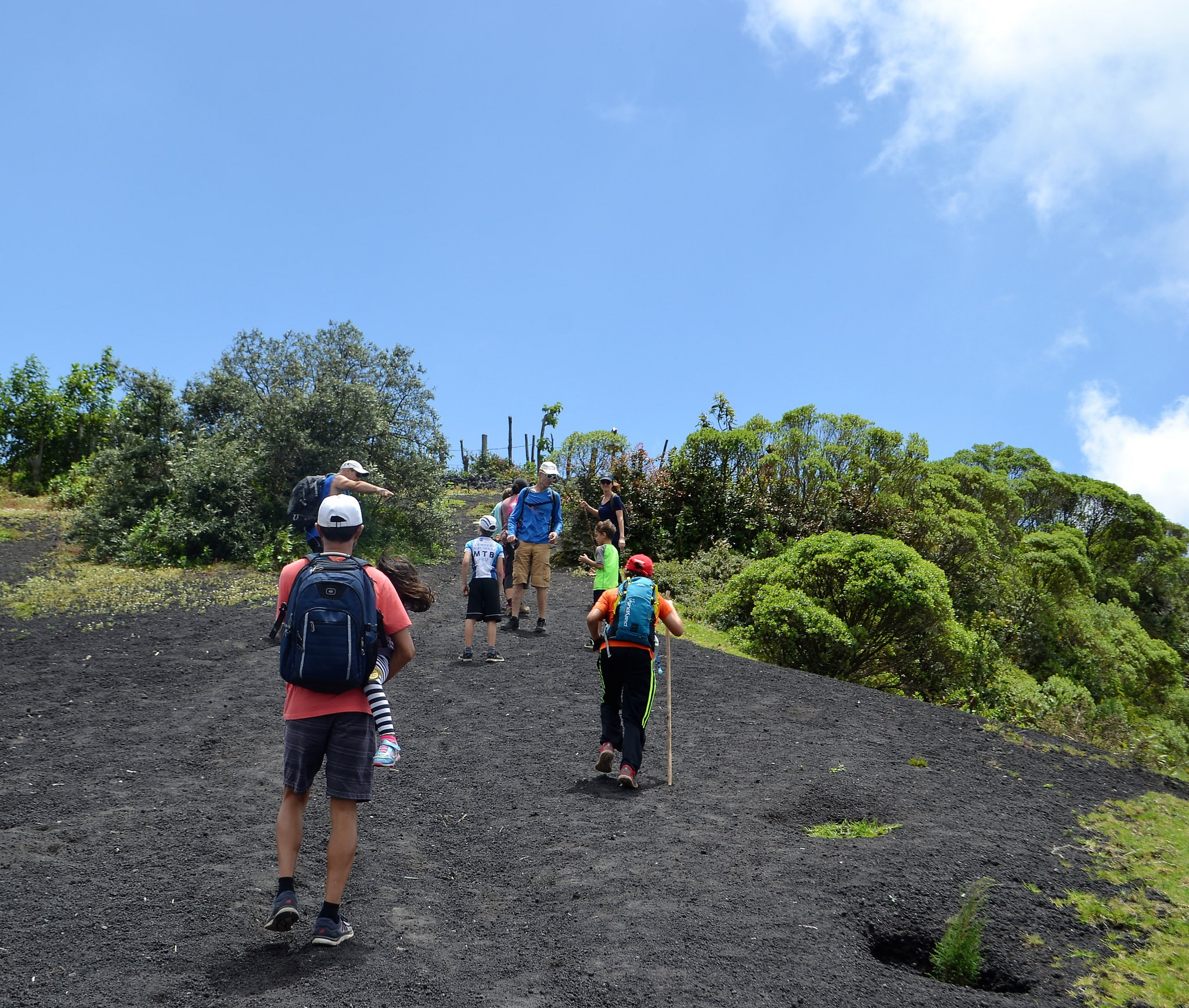 How to get ready for a Volcano Hike with kids in Guatemala.