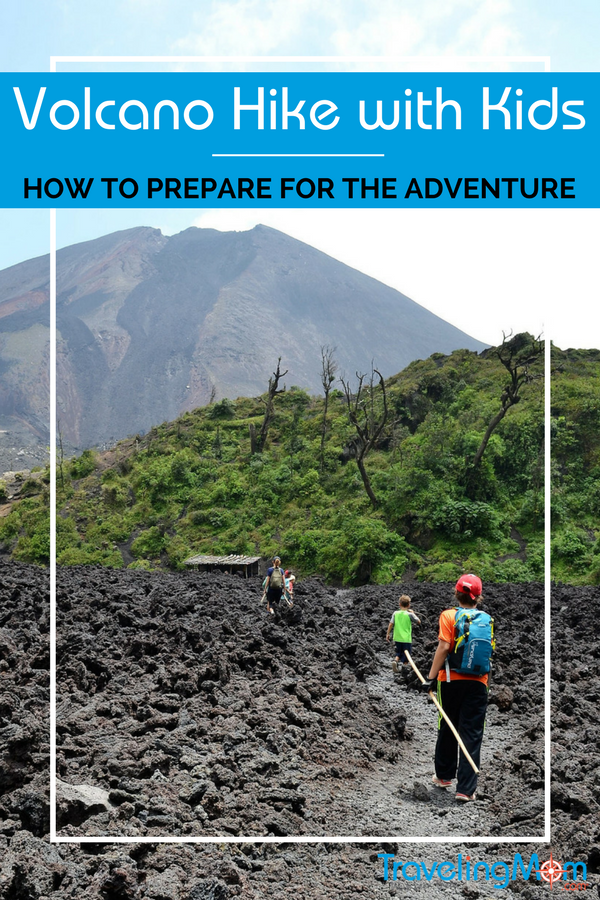 Short guide filled with tips about how to get ready for your first volcano hike with kids learned while planning a trip to Pacaya Volcano in Guatemala.