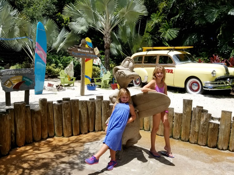 You'll find plenty of photo ops when visiting Disney's Typhoon Lagoon
