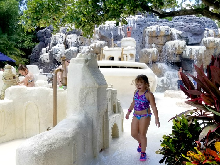 One of the best Typhoon Lagoon tips for parents of younger children is to spend some time in Ketchakiddee Creek.