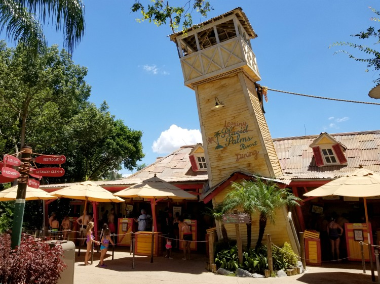 One of the best Typhoon lagoon tips for saving money is to bring your own food or share a meal.