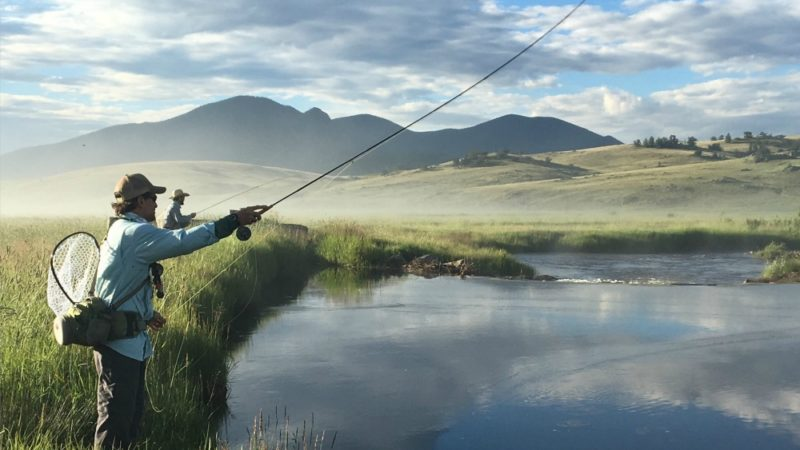 The Broadmoor is one of the good fly fishing destinations for family travel