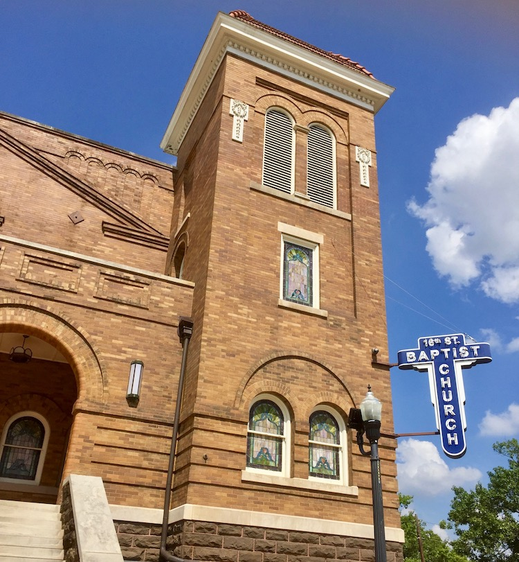 Things to do in Birmingham, Alabama involves historic churches. Some are in historic downtown Birmingham and some along the Civil Rights Trail.