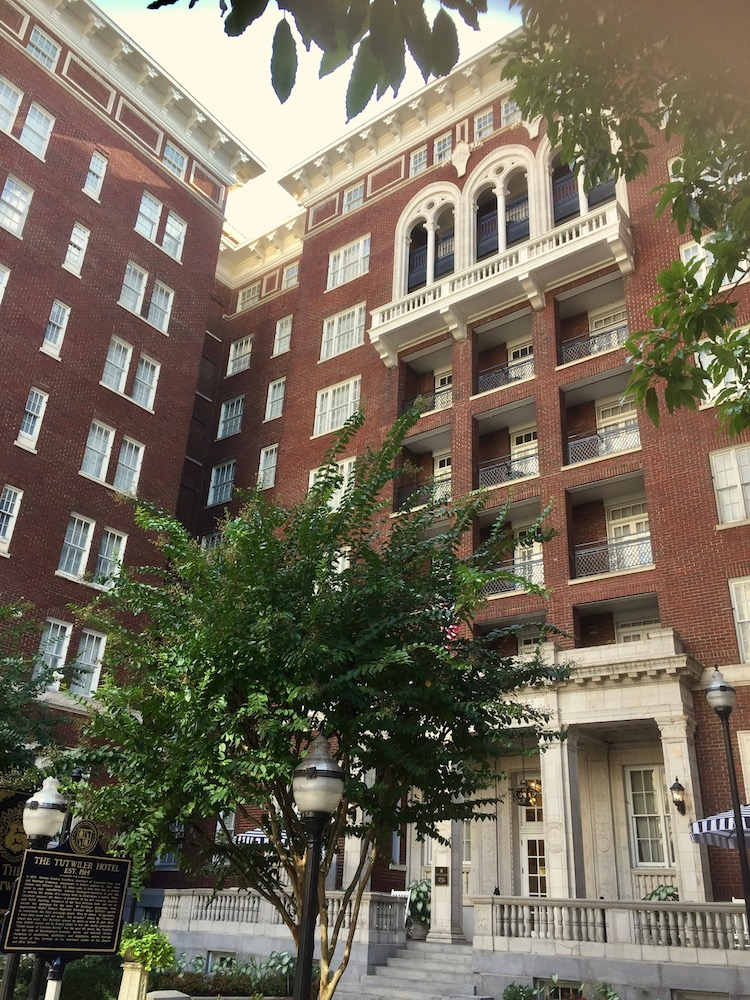 Things to do in historic downtown Birmingham, Alabama should include a stay in the 1914 Tutwiler Hotel where amenities are modern.