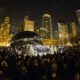 """Caroling at """"The Bean"""" is one of the fun and free holiday activities in Chicago."""