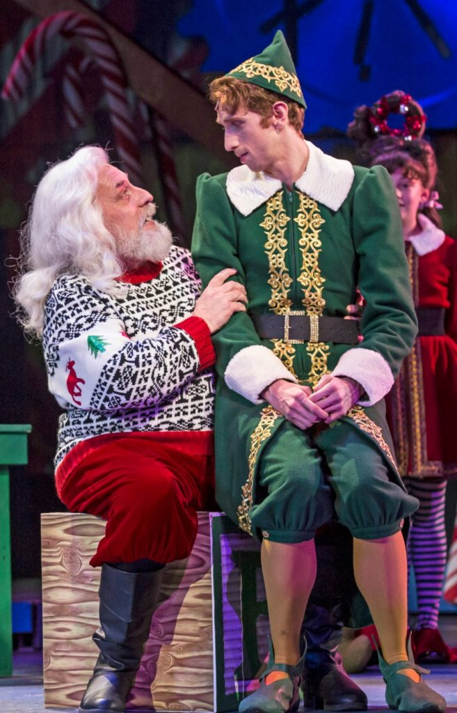 Christmas theater shows - Santa and Buddy the Elf